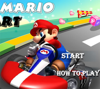 play_car_game_super_mario_kart_flash_free_online_2012_for_kids_boys_children
