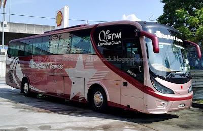 Bus to Melaka