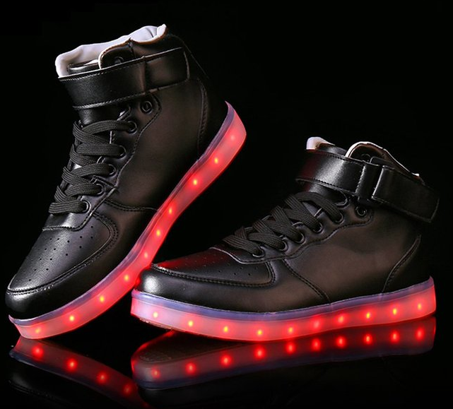 led shoes for men
