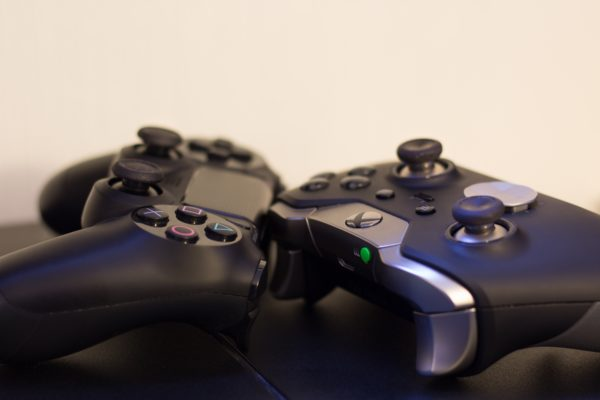 Video Game Gamepad Gaming Consoles Ps4 Games